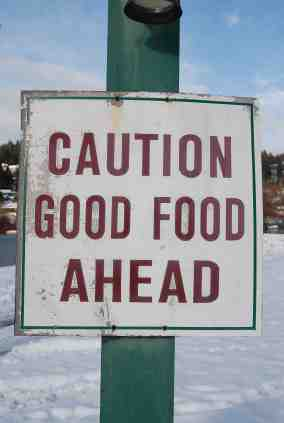 Good Food Safety Sign